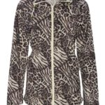 abrigo animal print amazon
