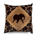 Fundas para almohada animal print elephant