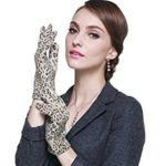 Gloves guantes de estampado de leopardo